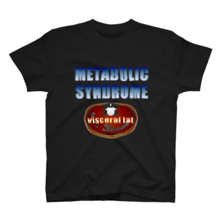 イケてるメタボ1/ドット絵 T-shirts