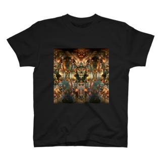 創造的破壊のgenesis T-shirts
