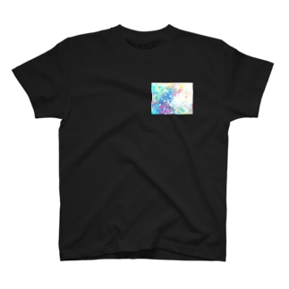 colourful canvas N T-shirts