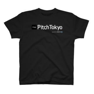 Pitch Tokyo w/ Aniwo Logo T-shirts