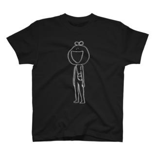 モノクロうえたろ T-shirts