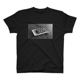 みたらしば団子(モノクロ) T-shirts