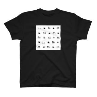 パンダとおにぎり。 T-shirts