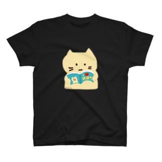 【Full Colored】本好きねこ The BOOK / BK-T1 T-shirts