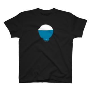 【Full Colored】ごはん GH-T1 / Rice Bowls T-Shirt