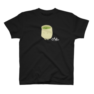 【Full Colored】お茶 CH-T1 / Green Tea T-shirts