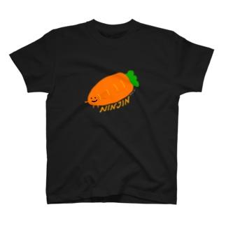 【Full Colored】人参 NJ-T1 / A carrot T-Shirt