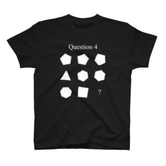 AJU*のQ4(白インク) T-shirts