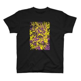 Yamachan0201のマーブル T-shirts