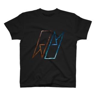 AUCH ロゴTシャツ サイダーコーラ T-shirts