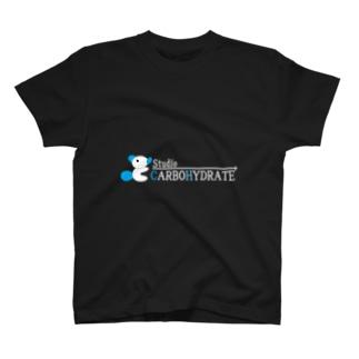 炭水性くんTシャツ(黒) T-shirts