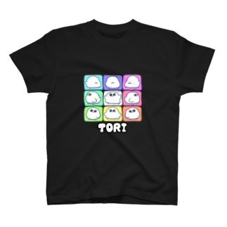 9パネルとり T-shirts