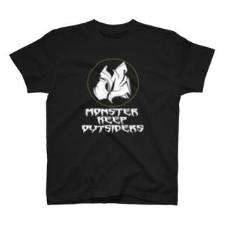 """M"" logo 01 T-shirts"