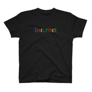 インターネットのロゴ T-shirts