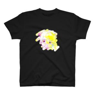 挑発する女の子 T-shirts