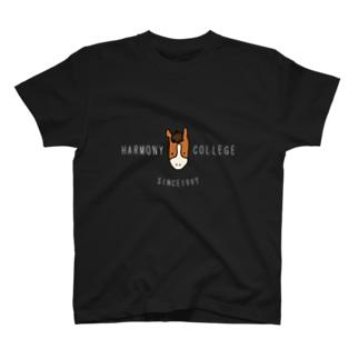 HARMONYCOLLEGE(白) T-shirts