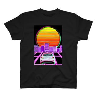 レトロ風Tシャツ T-shirts