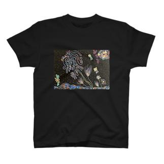 カイジュウのモニョモニョプラント T-shirts