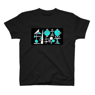 人生自転車操業(ネガ) T-shirts