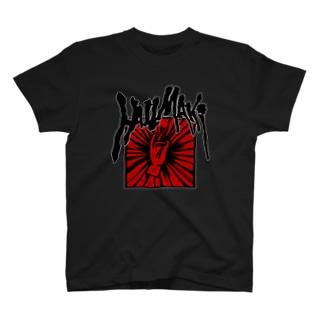 架空のバンドTシャツ T-shirts