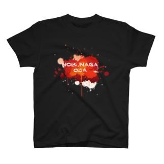 武将ネームデザイン「織田信長」 T-shirts