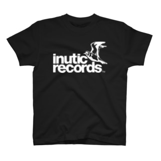 inutic records(濃い色用) T-shirts