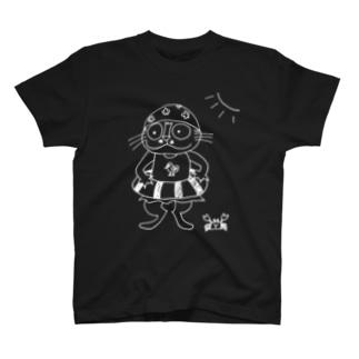 ジルの海水浴 T-shirts