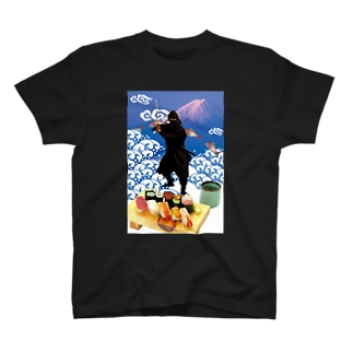 復刻忍者2001 T-shirts