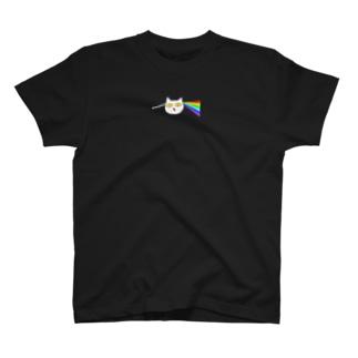 プリズムにゃぶん T-shirts