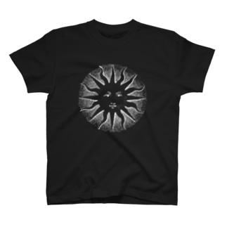 太陽(Sun)_WhitePrint T-shirts