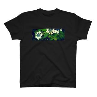 花器(ヨコナガ) T-shirts