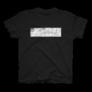 *郁えんぴつ* Goods Shopの白銀の華 T-shirts