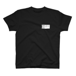 Simple×Active T-shirts