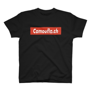 ボックスロゴ RED T-shirts