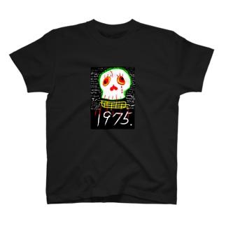 ポンコツ ドクロ 1975.  T-shirts
