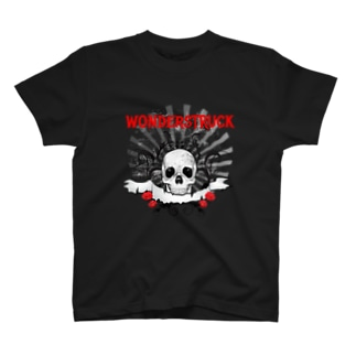 SKULL AND ROSE Tシャツ