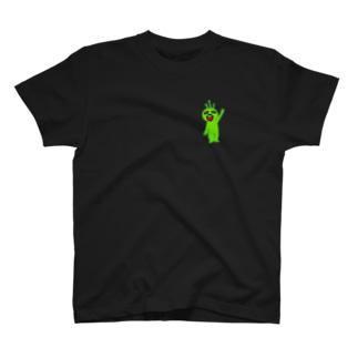宇宙人MitsuO T-shirts