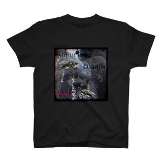 パープルレッド T-shirts