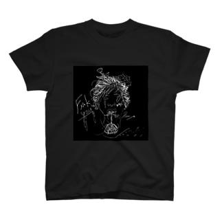 描いた絵で服作ってみました。 T-Shirt