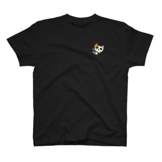 mikoにゃんこ「ご苦労様」 T-shirts