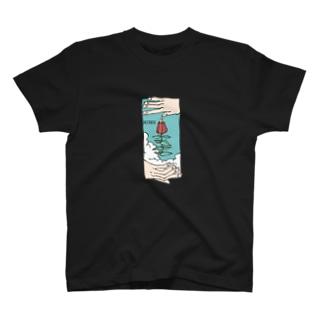 さこつのfloat T-shirts