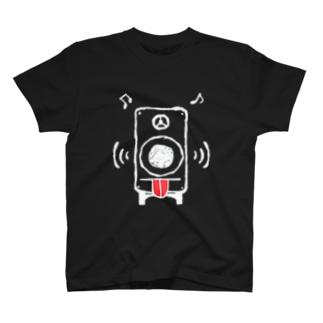 さうんどもんすたあ_ver.舌_W T-shirts