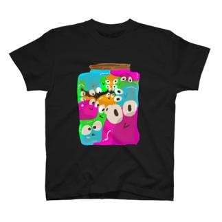 ビン詰めスライム T-shirts