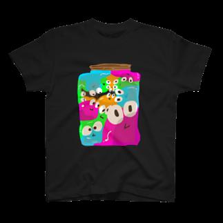 83ストアのビン詰めスライム T-shirts