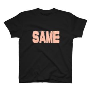 【セール限定デザイン】SAME T-shirts