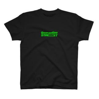 社会的距離ストリート T-shirts