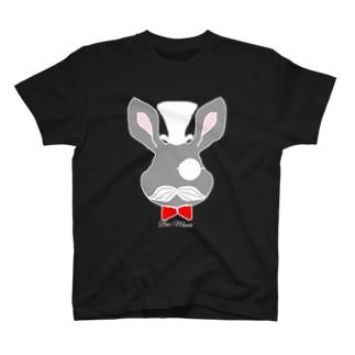 怪盗ラパン ホワイト T-shirts