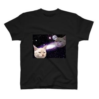ダークサイド宇宙ねこ T-shirts