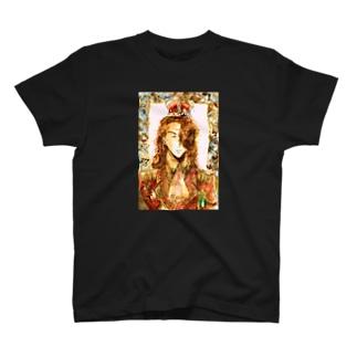 アダム肖像画 T-shirts