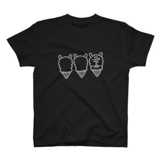 パカパカアイスクリーム T-shirts
